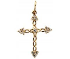 Крест (ладанка) авторская, ручная работа артикул: 5017