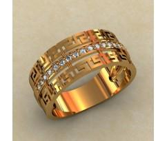 Женское кольцо индивидуальной обработки артикул: 0267-КЦ