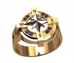 Мужское кольцо артикул: 3171
