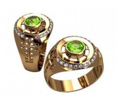 Мужское кольцо артикул: 3176