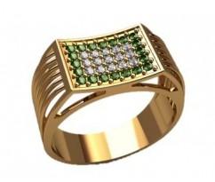 Мужское кольцо артикул: 3182