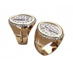 Мужское кольцо артикул: 3184