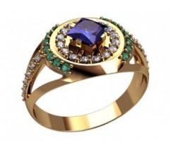 Мужское кольцо артикул: 3189