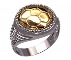 Мужское кольцо артикул: 3193