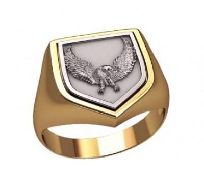 Мужское кольцо артикул: 3196