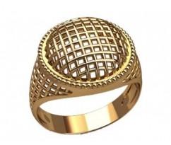 Мужское кольцо артикул: 3197