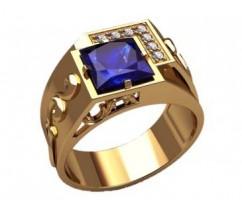 Мужское кольцо артикул: 3201