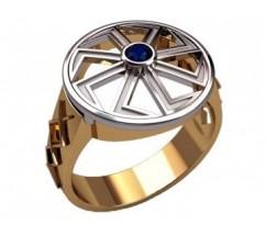Мужское кольцо артикул: 3202