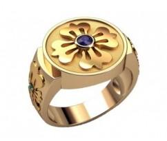 Мужское кольцо артикул: 3205