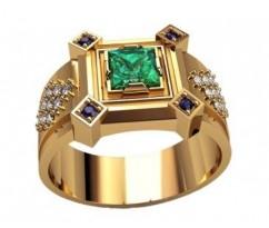 Мужское кольцо артикул: 3206