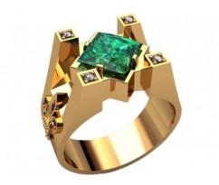 Мужское кольцо артикул: 3210