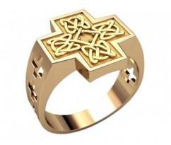 Мужское кольцо артикул: 3214