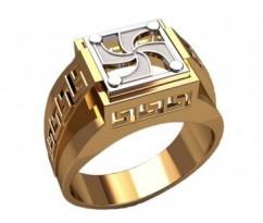 Мужское кольцо артикул: 3216
