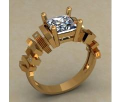Кольцо женское ручной авторской работы артикул: 0678