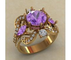 Массивное женское кольцо артикул: 0720