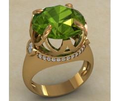 Массивное женское кольцо артикул: 0726