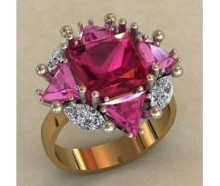 Перстень женский, ручная работа артикул: 0737