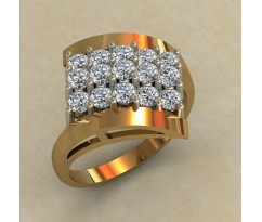 Кольцо женское ручной авторской работы артикул: КЕ-857