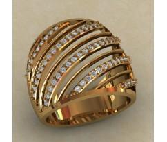 Перстень женский, ручная работа артикул: КЕ-858