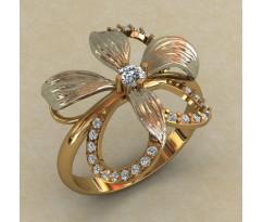 Кольцо женское ручной авторской работы артикул: КЕ-862