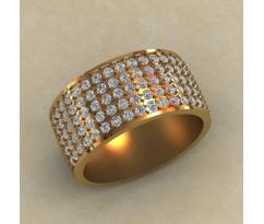Перстень женский, ручная работа артикул: КЕ-866