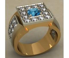 Мужское кольцо артикул: 0481