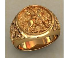 Мужское кольцо артикул: 0483