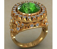 Мужское кольцо артикул: 0484
