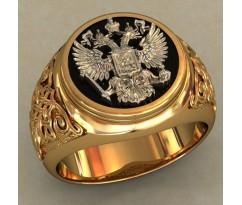 Мужское кольцо артикул: 0488