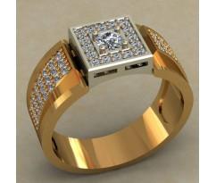 Мужское кольцо артикул: 0492