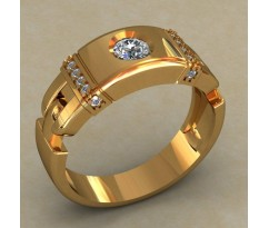 Мужское кольцо артикул: 0495