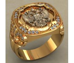 Мужское кольцо артикул: 0500