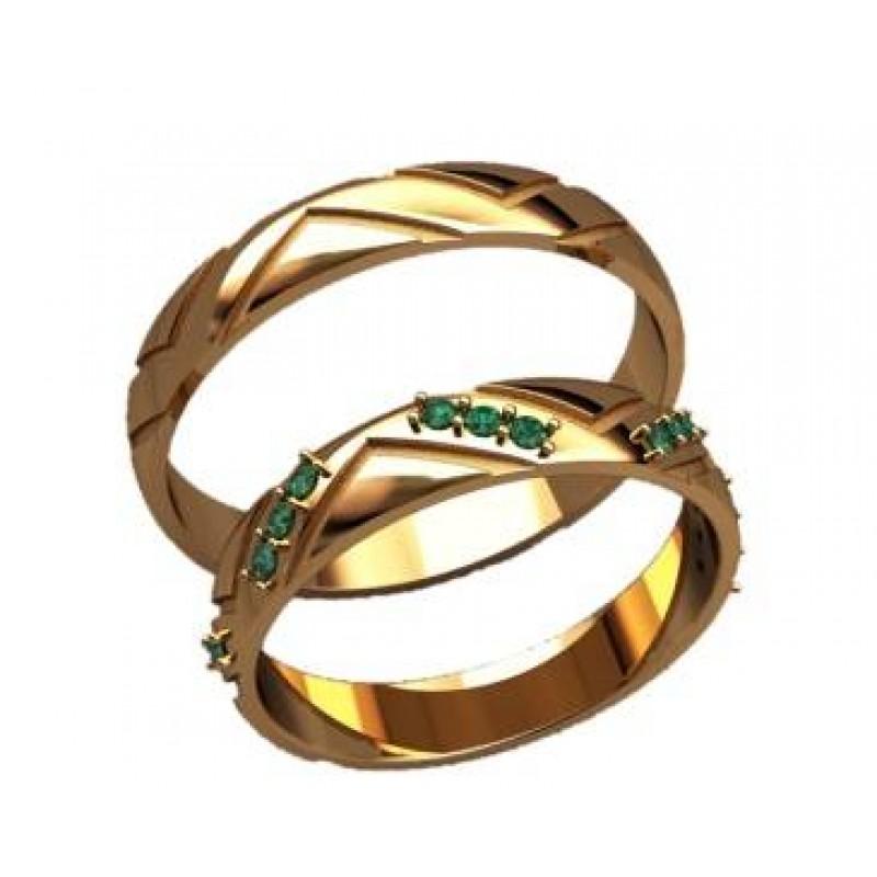 Оригинальные обручальные кольца (золото 585 пробы) Кировоград - изображение 3