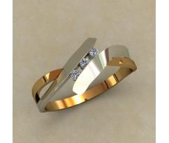 Кольцо для помолвки (выбор камня) артикул: 0508