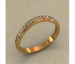Кольцо для помолвки (выбор камня) артикул: 0513