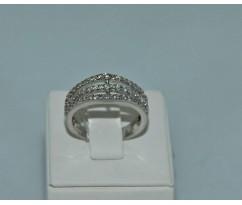 Серебрянное женское кольцо артикул: 60191