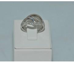Серебрянное женское кольцо артикул: 60201