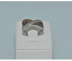Серебрянное женское кольцо артикул: 60211