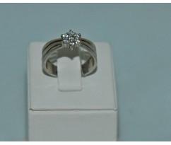 Серебрянное женское кольцо артикул: 60251