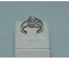 Серебрянное женское кольцо артикул: 60261
