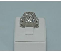 Серебрянное женское кольцо артикул: 60271