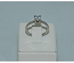 Серебрянное женское кольцо артикул: 60301