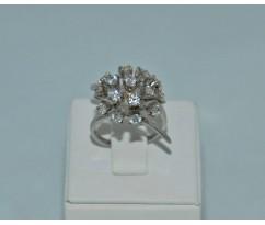 Серебрянное женское кольцо артикул: 60311