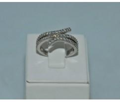 Серебрянное женское кольцо артикул: 60341