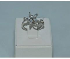 Серебрянное женское кольцо артикул: 60371