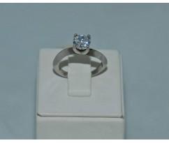 Серебрянное женское кольцо артикул: 60381