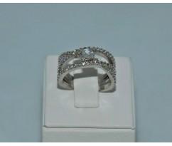 Серебрянное женское кольцо артикул: 60391
