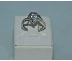 Серебрянное женское кольцо артикул: 60481