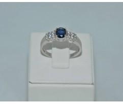 Серебрянное женское кольцо артикул: 60521