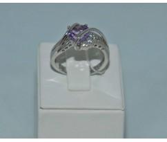 Серебрянное женское кольцо артикул: 60721